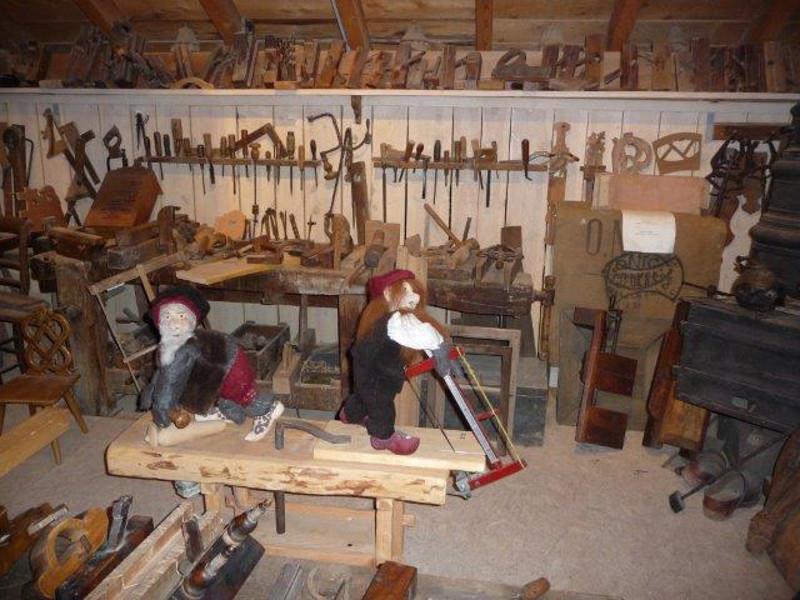 © Espace des métiers du bois et du patrimoine