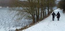 Wanderweg von dem Militärfriedhof bis zum See von Reichshoffen