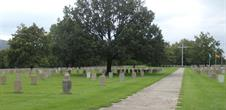 Visit of the military cimetery and the exhibition Destins de Guerre