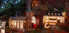 The crib's tour in Niederbronn-les-Bains and its area