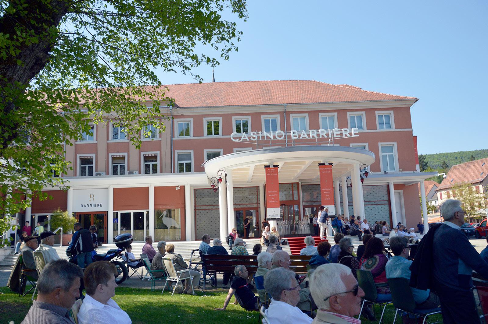 Spectacle de l'association folklorique de Herrenstein