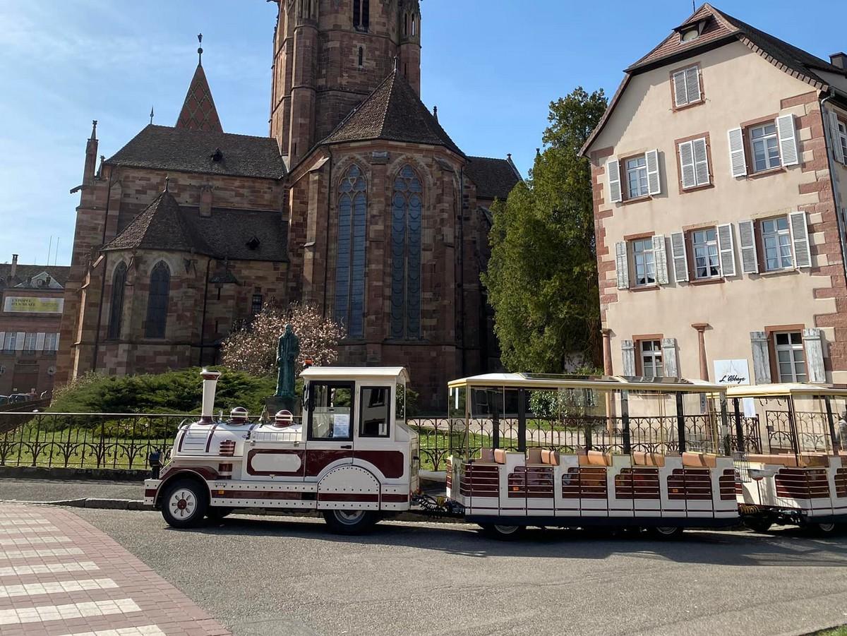 Circuit transfrontalier en mini-train touristique