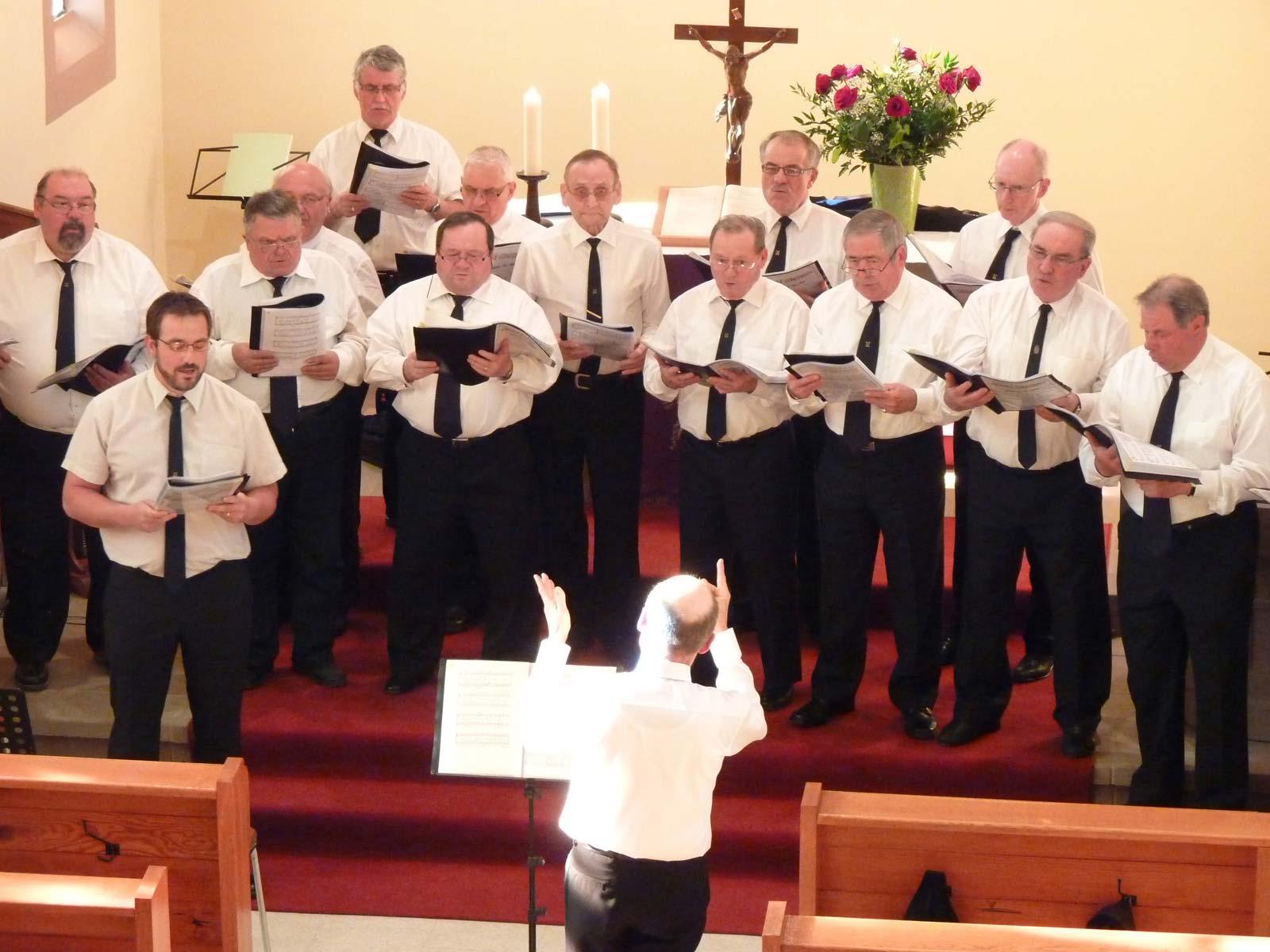 Concert de l'Avent Choeur d'hommes Concordia 1876