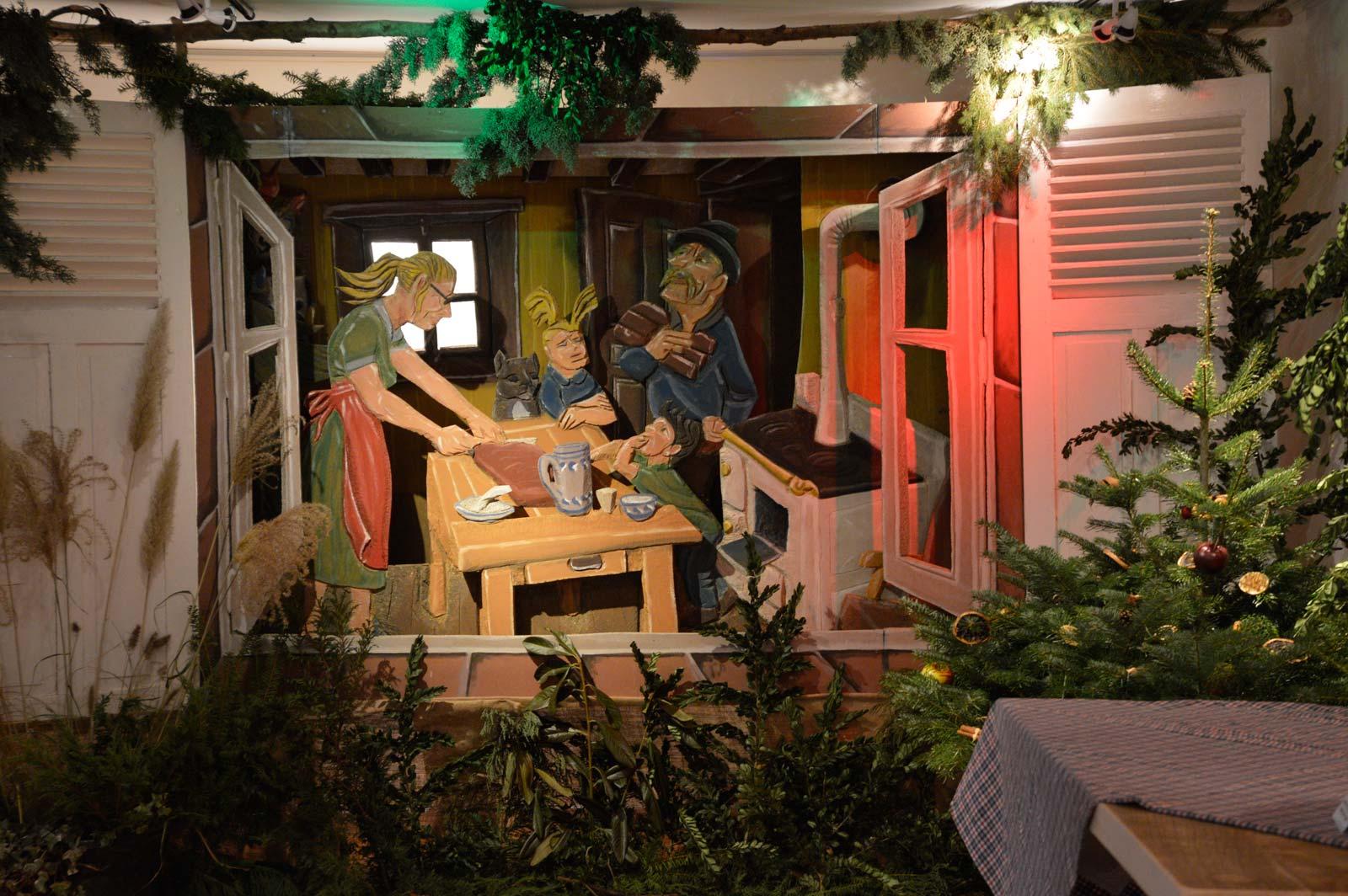 Expositions sur le thème d'un Noël d'Antan