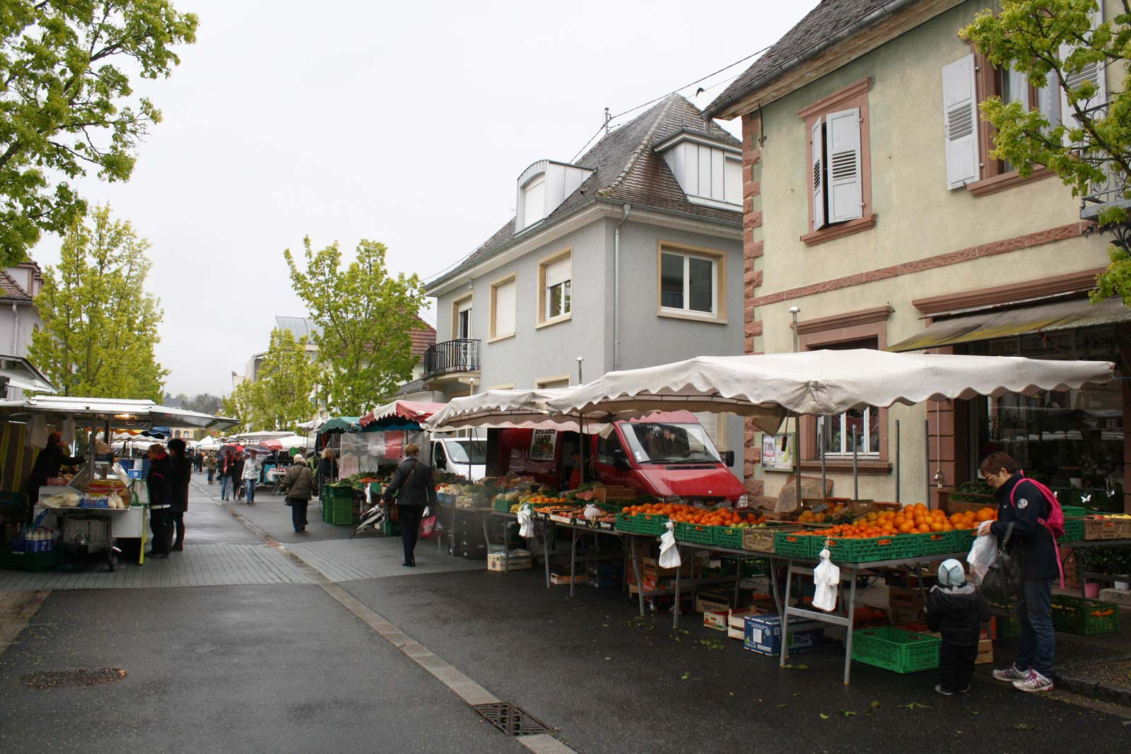 Traditional weekly market