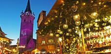 Gastronomy and crafts Christmas market in Obernai