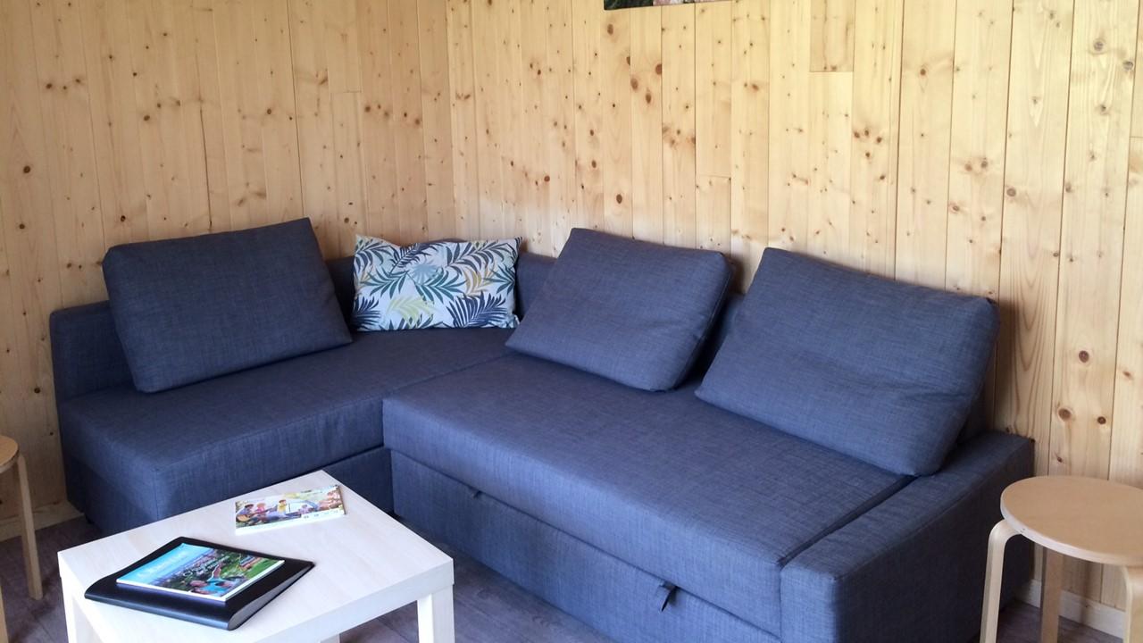 Camping Municipal Le Vallon de l'Ehn : chalet 3