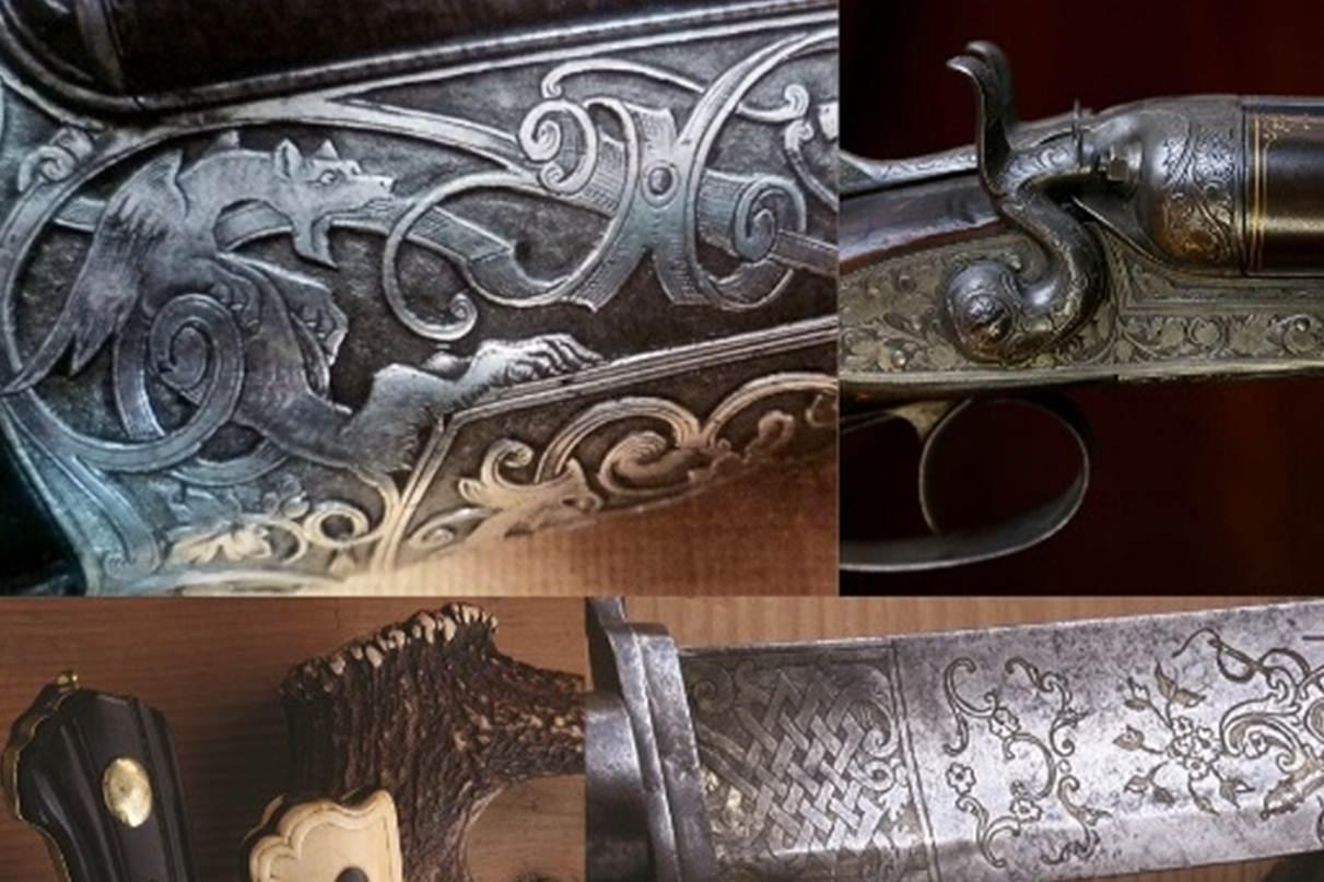 Exposition - Armes de chasse