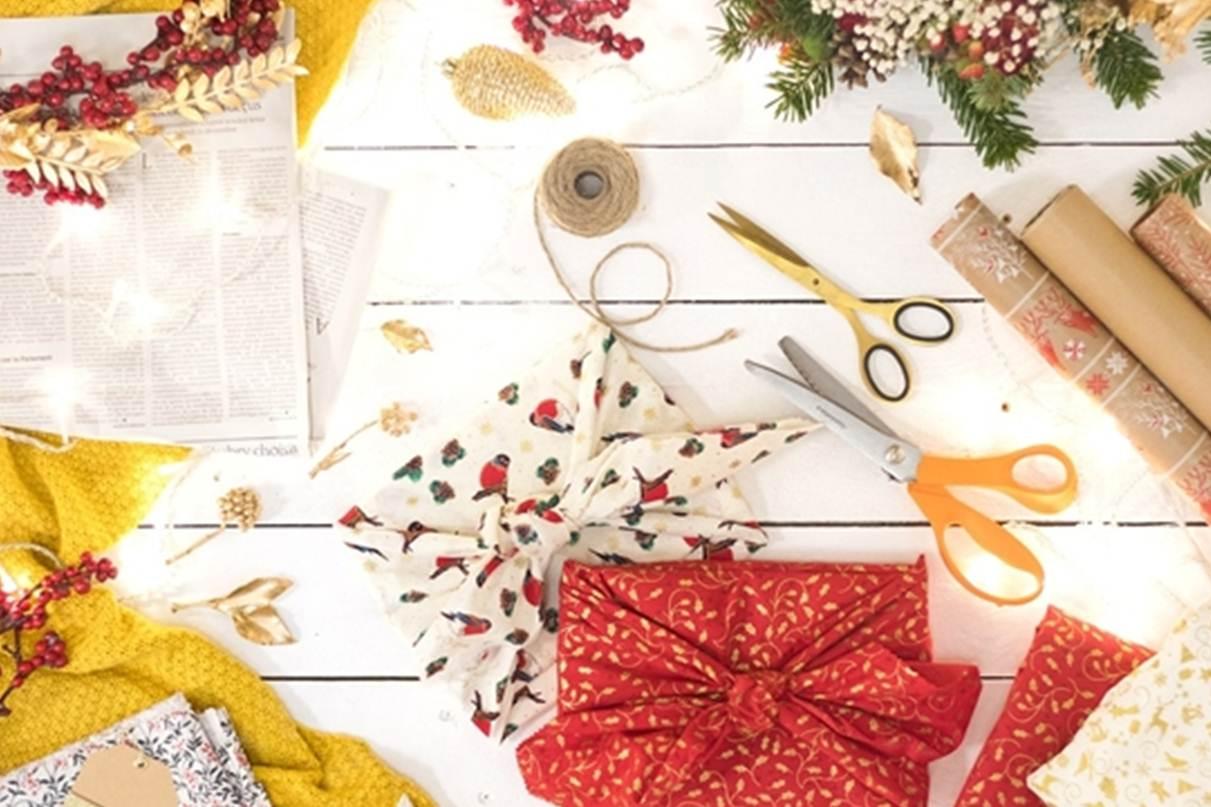 Atelier- Déco de Noël en papier recyclé