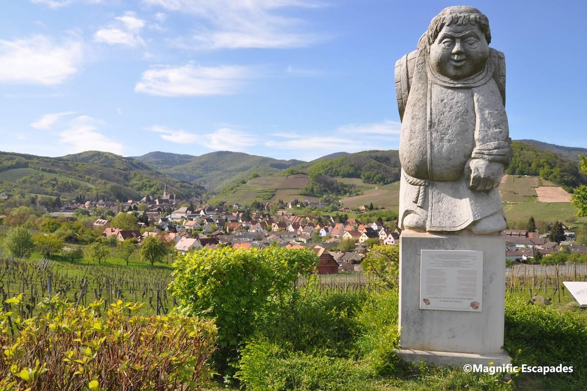 Journée vélo : une balade dans le vignoble alsacien - Obernai et environs