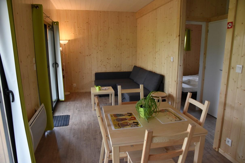 Camping Municipal Le Vallon de l'Ehn : chalet 2