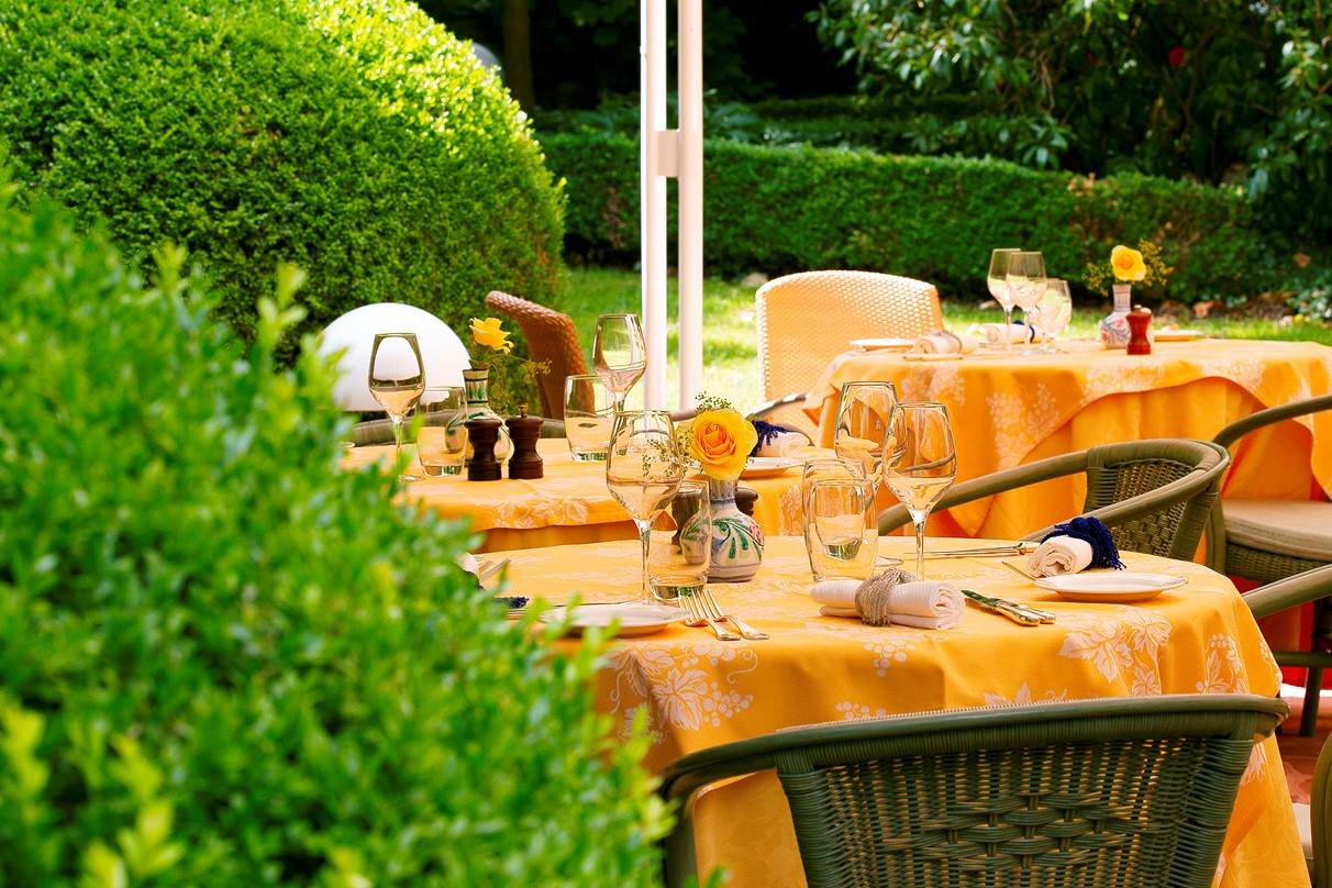 Restaurant le jardin des remparts obernai for Cafe jardin menu