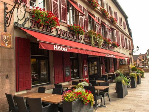 Hôtel (-restaurant) Au Cheval Blanc