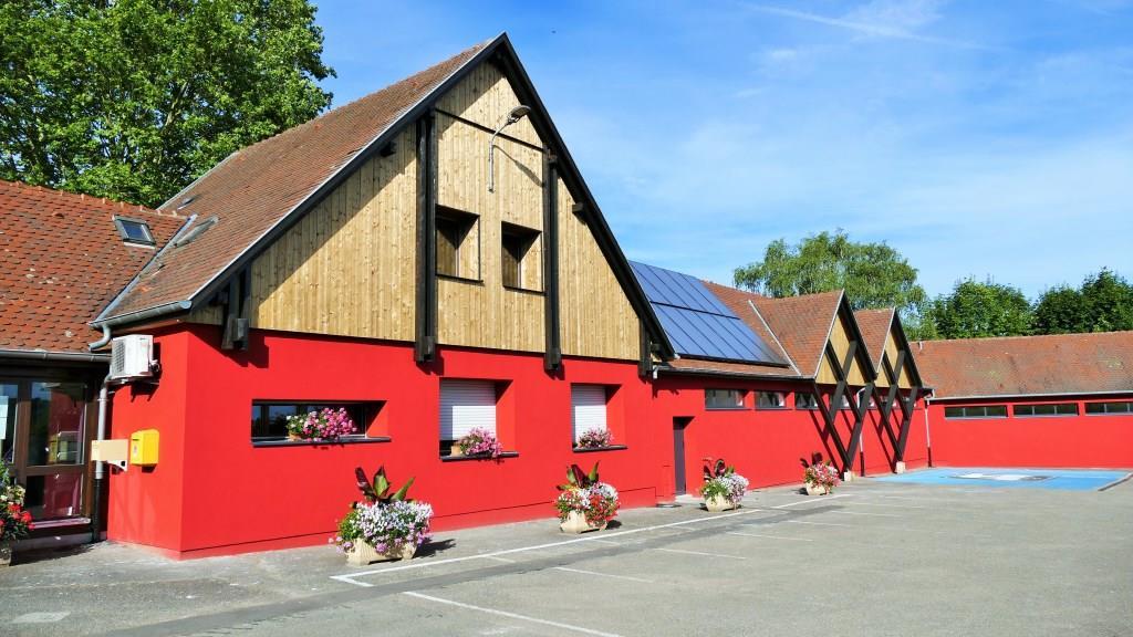 Bâtiment principal camping de Riquewihr