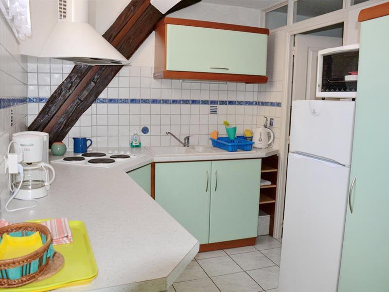 © La cuisine - Gite La Maison bleue/C. Mauguin