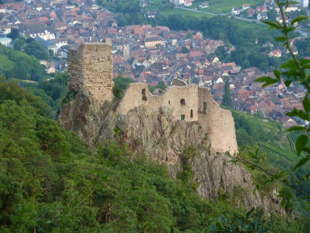 Ribeauville - one of the oldest medieval town in Alsace
