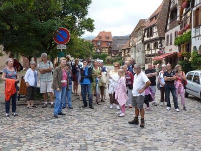 Visite guidée de Bergheim
