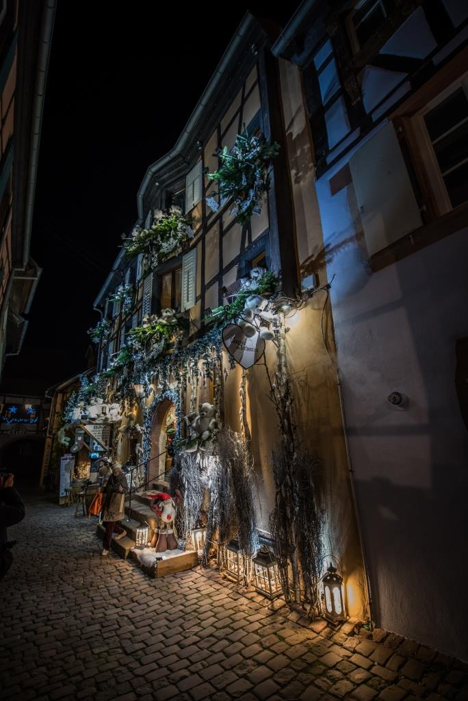 Christmas in Riquewihr: Christmas market