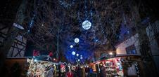 Christmas in Riquewihr: traditional Christmas market