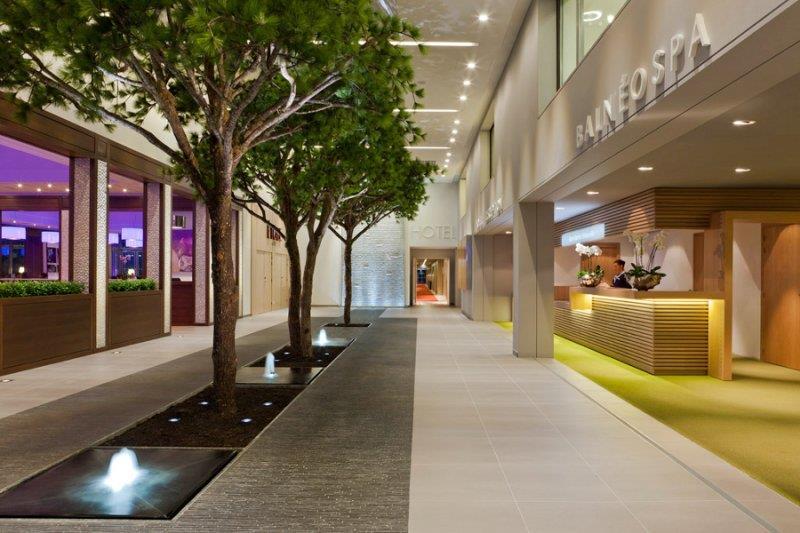 Hall d'accueil de l'hôtel - Crédit : Fabrice Lambert