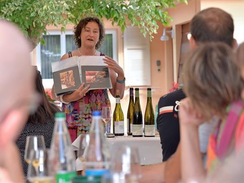 Apéro gourmand au domaine Sylvie Spielmann