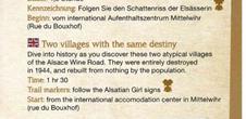 Sentier d'interprétation 'Bennwihr et Mittelwihr, 2 villages pour un même destin'