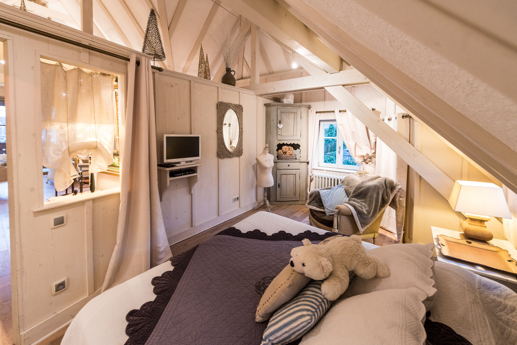 Furnished tourist accommodation Les Remparts de Riquewihr /The White Stork