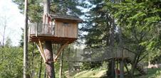 Cabane dans les arbres - Les Hauts de Ribeauvillé