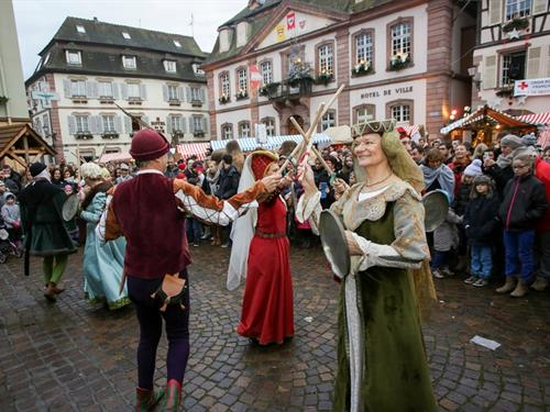 Medieval Christmas market