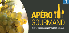 Apéro gourmand chez le Vigneron Indépendant d'Alsace - Domaine Becker