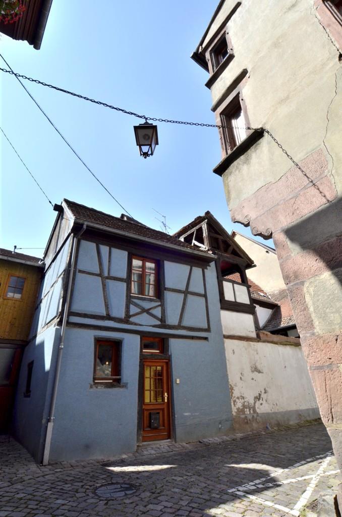 Gîte indépendant situé dans une maison traditionnelle alsacienne à colombages