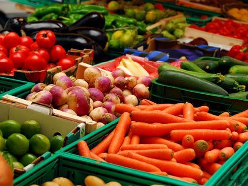 Marché de produits bio de Ribeauvillé
