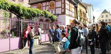 City tour and welcome drink in Ribeauvillé