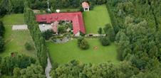 Vue aérienne du domaine d'Epfig/©Foie-gras du vignoble