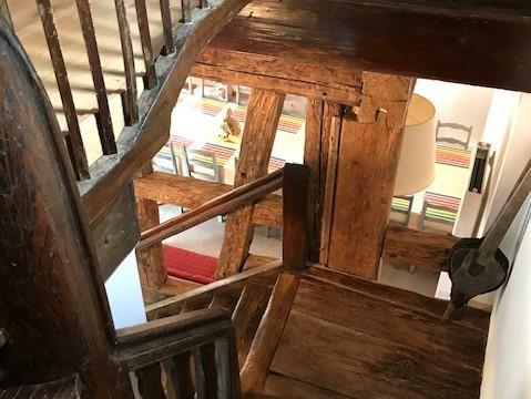 Cage d'escalier d'époque