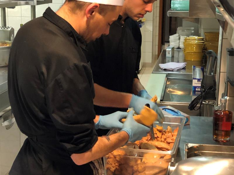Cuisiniers / © Au Rendez-Vous Gourmand