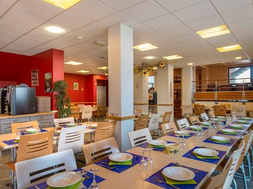 Das Restaurant Le Mittel