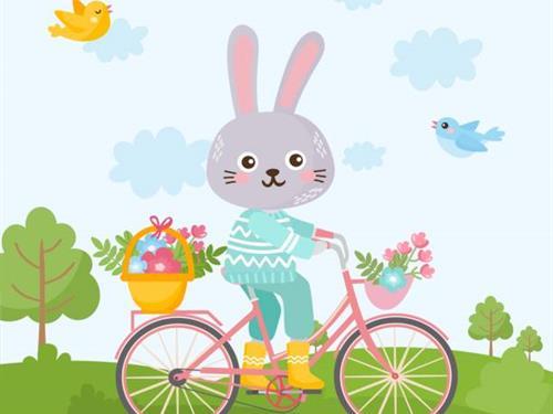 Chasse au trésor de Pâques à vélo :  La quête du chocolat perdu
