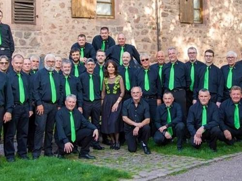 Music concert of the Men's choir of Riquewihr