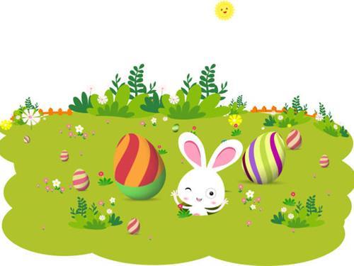 Chasse au trésor de Pâques :  Anselme et le lièvre de Pâques