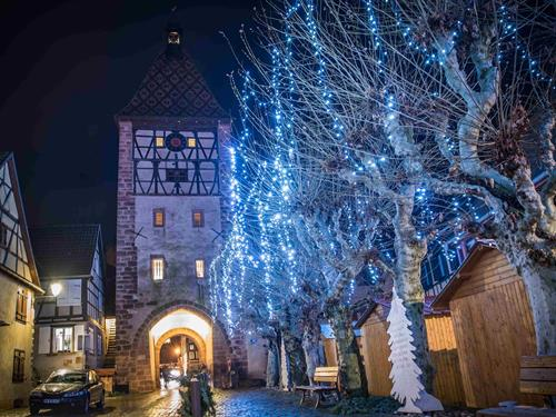 Christmas treasure hunt in Bergheim (in French)