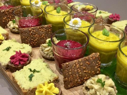 Ateliers culinaires : Menu d'automne bio-végétarien