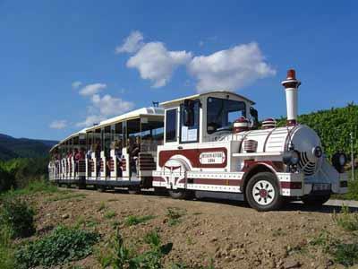 Visite de Riquewihr en Petit Train Touristique