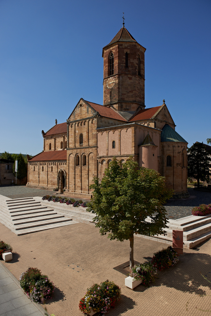 Romanesque St. Peter and St. Paul's Church