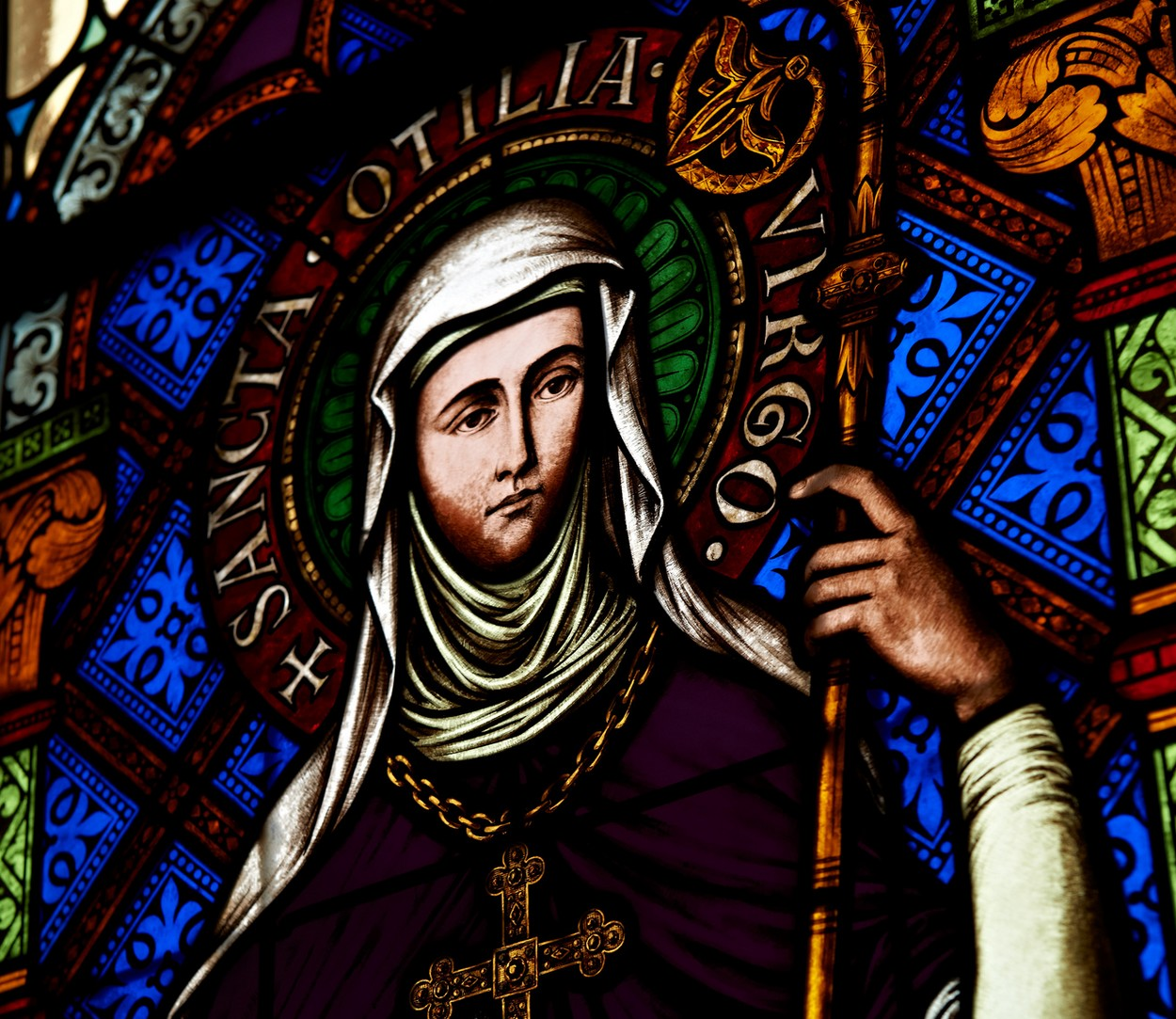 The legend of Sainte-Odile