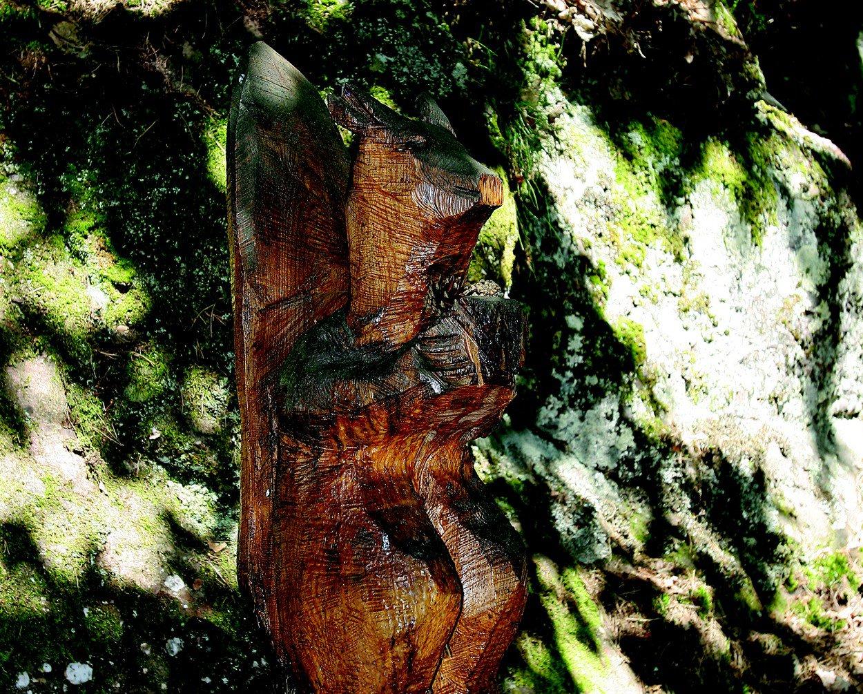 Sculpture sur le sentier - ©C.Hamm