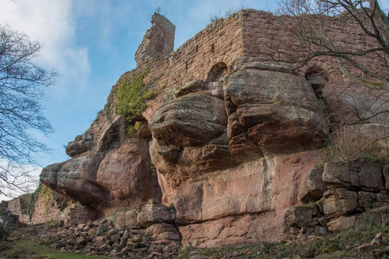 Découverte du château de Guirbaden