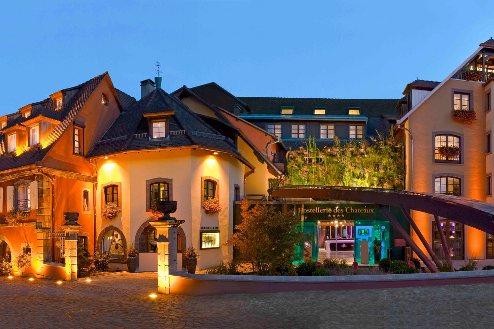 Hostellerie des ch teaux spa ottrott for Designhotel elsass