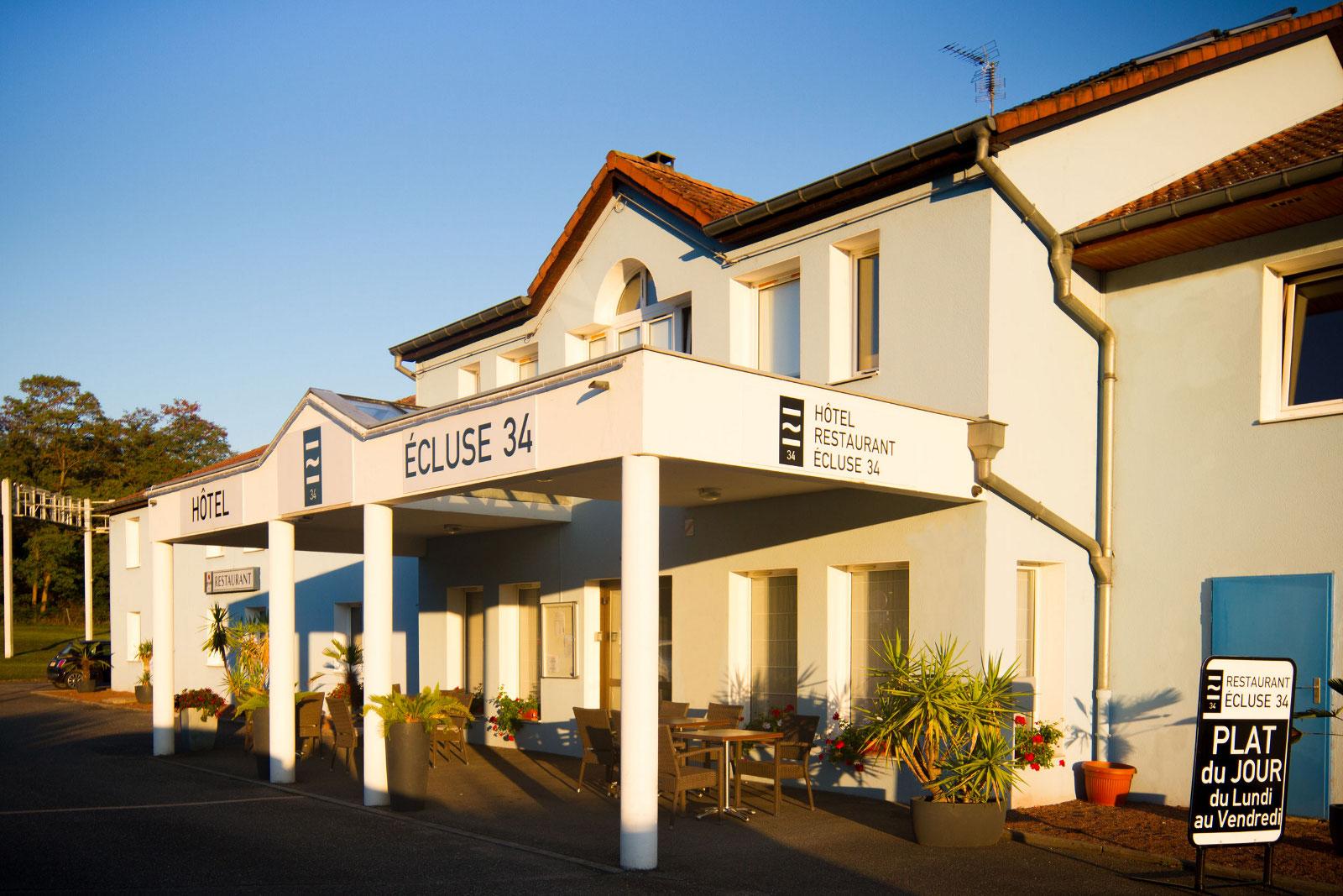 Hôtel Restaurant Ecluse 34
