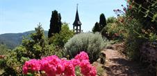 Der Alpengarten der St. Vitus Kapelle